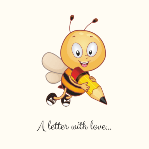 A letter with love
